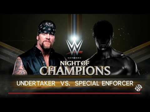 PC世界摔角娛樂WWE 2K16 - 送葬者'01(皇家大戰'01)[Undertaker'01] Vs. 特種強制者[冠軍之夜'14] [普通規則賽] [19/11/'16]