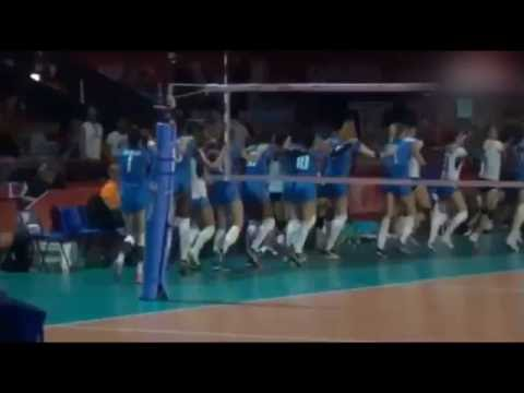 Women's volleyball, Italy-Thailand: turns off the light, the girls dance together!!