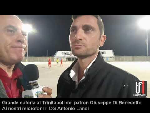 Trinitapoli, il DG Antonio Landi presenta il progetto del presidente Giuseppe Di Benedetto