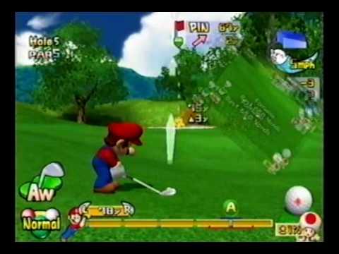 Mario Golf: Toadstool Tour Lakitu Star Cup - Front 9