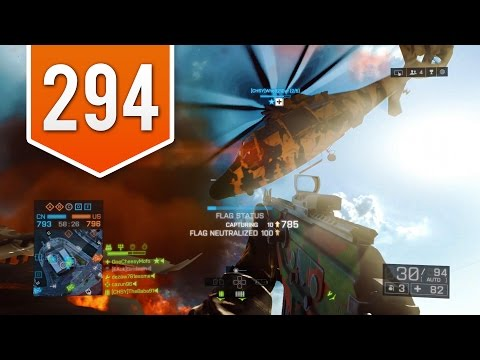 BATTLEFIELD 4 (PS4) - Road to Colonel - Live Multiplayer Gameplay #294 - INSANE FIRST SPAWN!