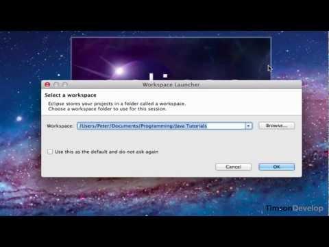 Learn Java Tutorial 1.1 - Setup Eclipse Mac & Hello World