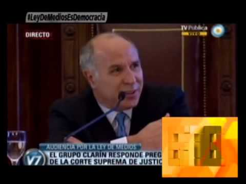 Te mostramos como Clarín tartamudea ante la justicia