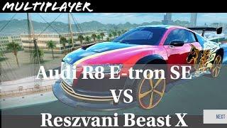 Asphalt 8: Audi R8 E-tron SE (Rank 1662) Multiplayer test after the Rezvani Beast X release
