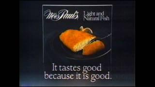 download lagu Mrs. Paul's Light And Natural Fish 1983 Commercial gratis