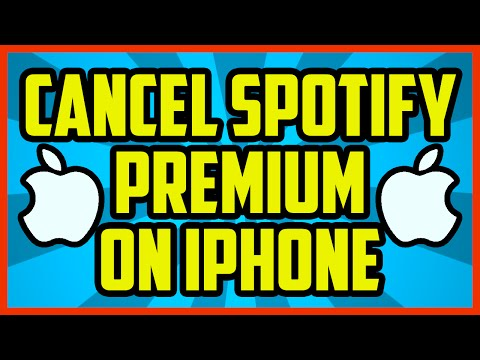 How To Cancel Spotify Premium On Iphone 2017 (QUICK & EASY) - Cancel Spotify on Apple Device iTunes