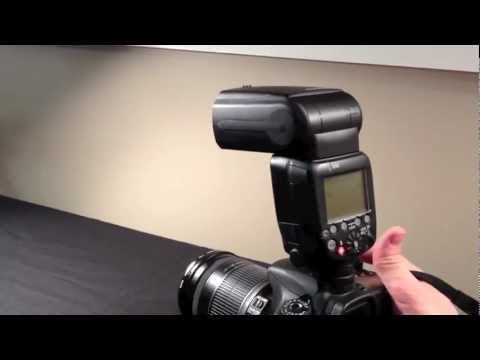 Canon Speedlite 600EX-RT Review - Hands On Review - Features of the Flash Body