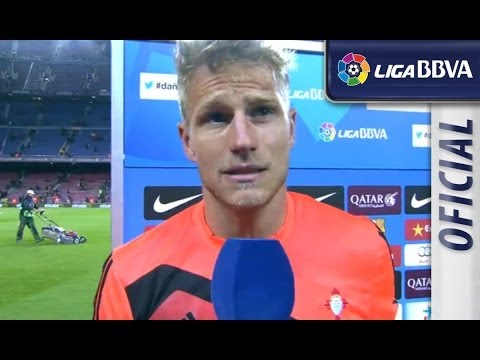 Entrevista | Interview Yoel tras el FC Barcelona (3-0) Celta de Vigo - سلتيك برشلونة - HD
