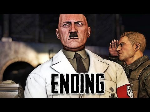 Sniper Elite 3 Hunt the Grey Wolf Gameplay Walkthrough Part 2 - Ending (PS4)