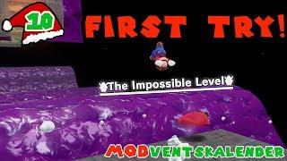 """Ich schaffe das """"unmögliche"""" Level im """"First Try"""" 🎄 Türchen 10 MODVENTSKALENDER"""