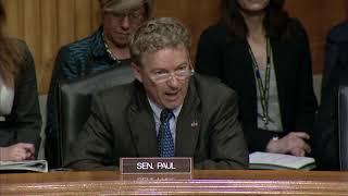 Sen. Paul Questions FBI Director on Domestic Spying - Oct. 10, 2018
