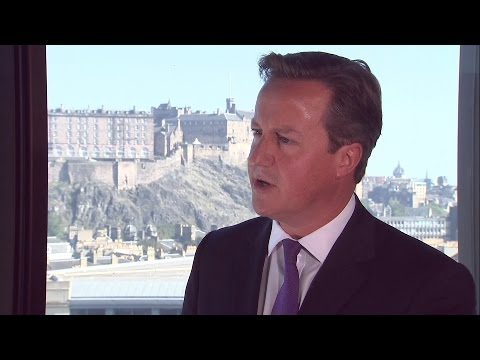 David Cameron's Message Of 'Heart And Head' To Scotland