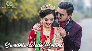 Swadhin Weds Monika||Cinematic Wedding Highlights||Wedding Canvas Nepal||2018
