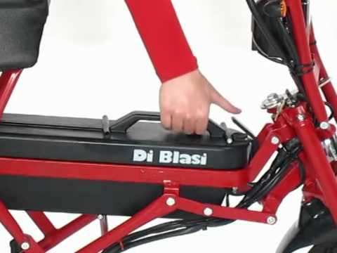 The Di Blasi R70 Electric Folding Motorbike