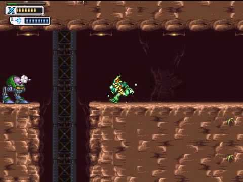 MegaMan X: Corrupted - Hydra Armor Video