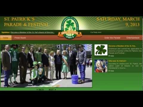 Fort Lauderdale Irish Festival - South Florida Festival Website Designers