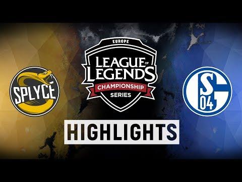 SPY vs. S04 - EU LCS Week 6 Day 2 Match Highlights (Spring 2018)