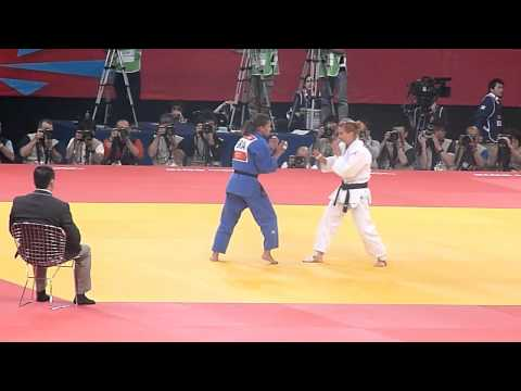 Olympic Judo London 2012 -48kg Final - Menezes BRA bt Dumitru ROU