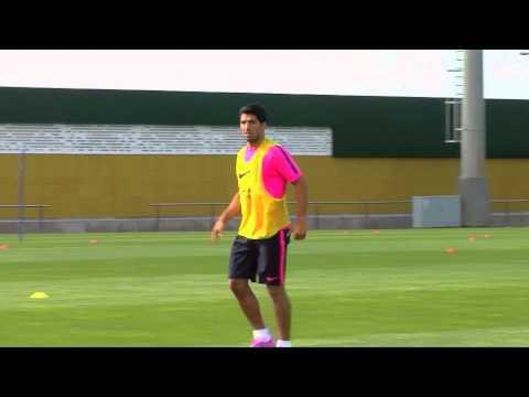 Luis Enrique freut sich auf Thomas Vermaelen und Luis Suarez | Rayo Vallecano - FC Barcelona