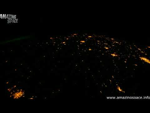 Time Lapse of Earth From Space Timelapse from the ISS