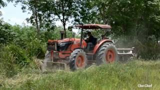 รถไถเคลียร์ริ่งข้างทาง KUBOTA M9540 Tractor