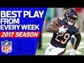 Best Play from Every Week | 2017 NFL Highlights MP3