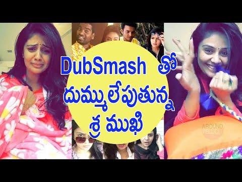 Anchor SriMukhi Dubsmash Videos In Telugu - Srimukhi - Anchor Ravi - Bithiri Sathi//TFCCLIVE