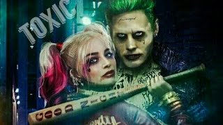 the joker & harley quinn II toxic ( suicide squad )