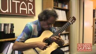 "Roland Dyens Performs ""June"" and ""Valse, op. 69 # 2"" at the Acoustic Guitar Office"
