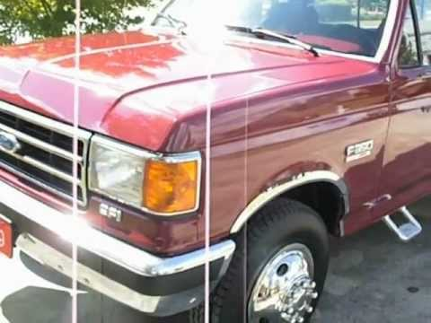1989 Ford F 350 Dually With 5th Wheel Youtube