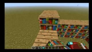 Como almentar o poder da forja co estantes de livros no minecraft