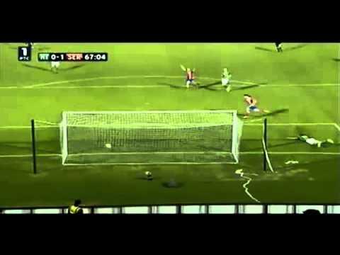 ไอร์แลนด์เหนือ 0-1เซอร์เบีย - ยูโร2012 02-09-2011