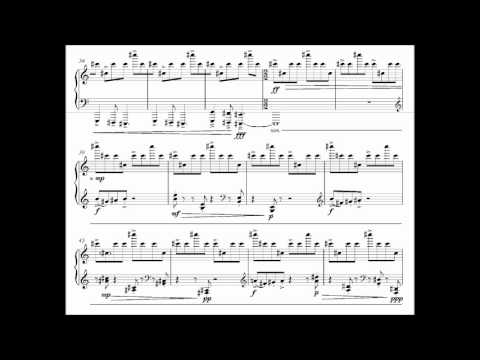 Prelude No. 5 (Precision) for piano by Keane Southard (with score)