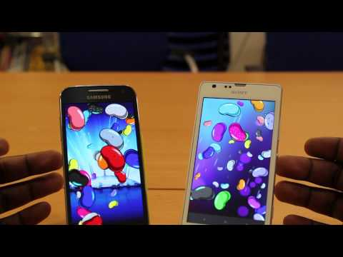 SONY XPERIA SP VS SAMSUNG GALAXY S4 MINI FULL COMPARISON