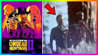 Red Dead Redemption 2 Undead Nightmare - NEW Discoveries! Zombies, Mummies & MORE Have Been Found!