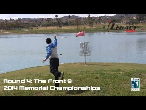 The Disc Golf Guy - Vlog #202 - Final Rnd 1-9: Paul McBeth, JohnE McCray, Drew Gibson, Jared Roan