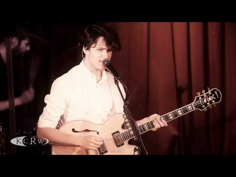 "Vampire Weekend performing ""Diane Young"" Live on KCRW"