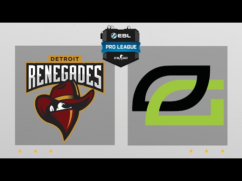 CS:GO -  Renegades vs. OpTic [Cbble] Map 1 - ESL Pro League Season 5 - NA Matchday 2