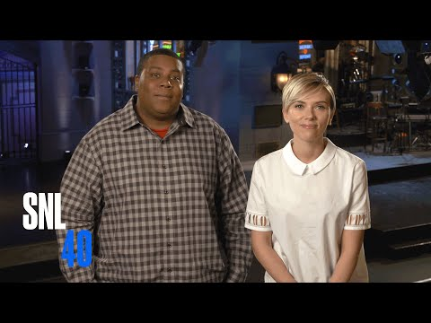 Being New Parents Won't Stop Kenan and SNL Host Scarlett Johansson From Partying