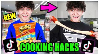 We TASTED Viral TikTok Cooking Life Hacks...(THEY WORKED!)