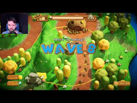 Pixel Junk Monsters 2  | Обзор игры 🔥 играем в Pixel Junk (она же Пиксельный мусор Монстры 2) ►