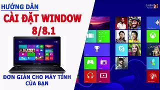 Hướng dẫn cài đặt Window 8/ 8.1 chi tiết - Hoài Nam Computer