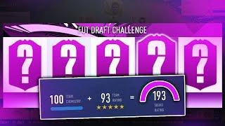 193 FUT DRAFT CHALLENGE! - FIFA 19 Ultimate Team