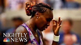 Venus Williams: Body Camera Footage Shows Tennis Star After Crash | NBC Nightly News