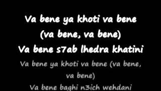 ►La Fouine feat Reda Taliani   Va Bene PAROLES By Nounou Manita Hors La Loi