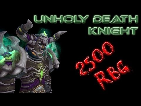 Mists of Pandaria PvP: Unholy Death Knight 2500 RBG SilverShards Mines ft Qutipz and Cnboxer