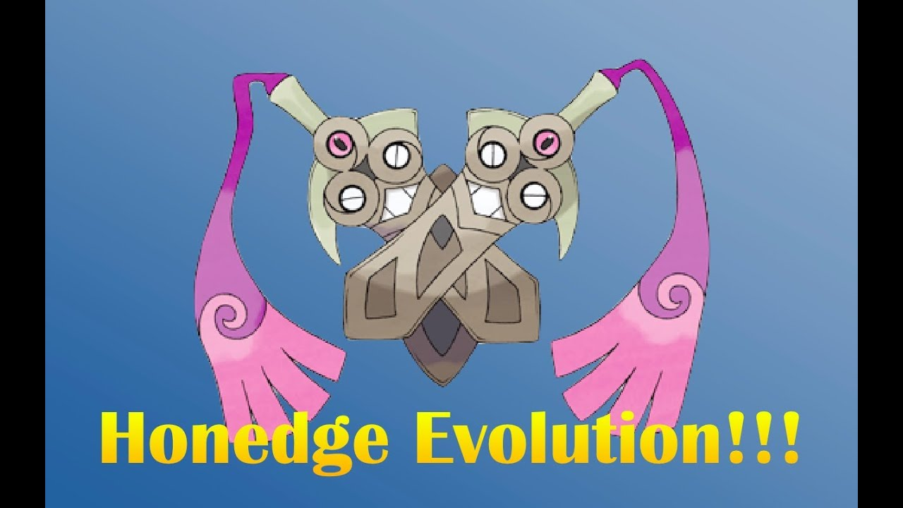 How does Honedge evolve in Pokemon X and Y - answers.com