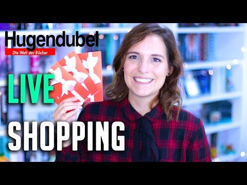 LIVE BUCH SHOPPING bei HUGENDUBEL | Mein Mann kauft Bücher ein + Haul & Gewinnspiel | melodyofbooks