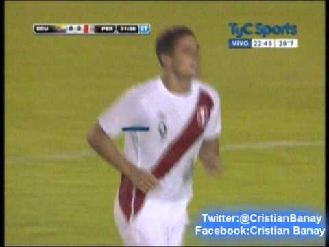 Peru 2 Ecuador 0  (Relato Cristian Garofalo) Sudamericano Sub 20 2015 Los goles