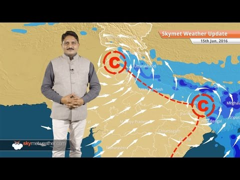 Weather Forecast for June 15: Monsoon rains in Northeast and West Coast; rains in North India